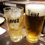 だるま - ジンジャーエール 生ビール