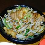 フルカワ食堂 - モツ炒め