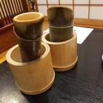 寿司割烹 きんぺい - 宮泉と鍋島