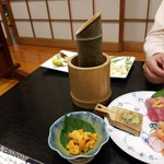 寿司割烹 きんぺい - 手取川