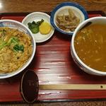 118109237 - ミニカツ丼セット
