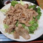 あさみどり - 黒豚生姜焼き