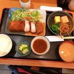 九絵 - ロースとんかつ定食