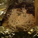 チャウ バウ - 白身魚のレモングラス蒸し(ホーチミンコース)