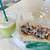 伊豆フルーツパーク - 料理写真:メロンジュースといか姿焼き