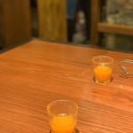 ザミートダッチ - 食前にでてくるジュース