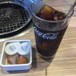 国産牛焼肉くいどん  - ランチのアイスコーヒー