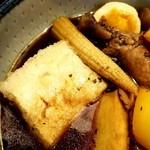 酔月亭 - 揚げ出し豆腐