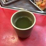 立喰 さくら寿司 - 緑茶(サービス)