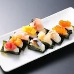 山の猿 - おつまみ寿司