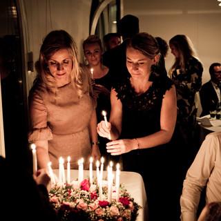 お祝いのケーキ(デザートプレート)※誕生日・記念日など