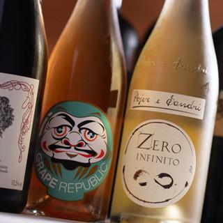 豊富なワインリストのほか、京都の地酒やお抹茶もご用意