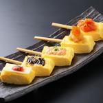 山の猿 - にんべん出汁5色の出汁巻き串