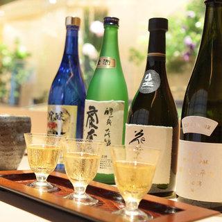 寿司にあう全国の個性派日本酒