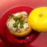 はせ茂 - 白子と牡蠣
