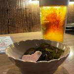 和酒バール AGI - ビールとお通し