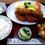 三好弥 - 三好弥 @上板橋 カキフライ定食 1,030円
