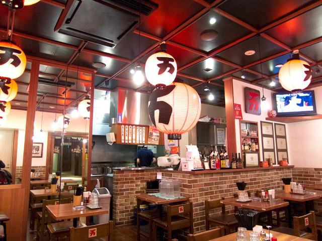 万世麺店 霞が関ビル店