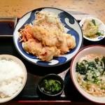 吉むら - 料理写真:「豚天ポンズ定食」780円