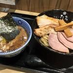 京都 麺屋たけ井 - 特製つけ麺(並)(1170円)