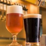 ラクビア - ビール2種(海軍さんの麦酒・湘南ビール)