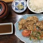 お食事処 淡海 - 料理写真:若鶏の唐揚げ定食
