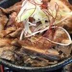 麺処学 - チャーシューゴロゴロ