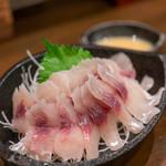 うなぎの豊川 - 2019.10 ふなの洗い(900円)