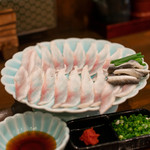 うなぎの豊川 - 2019.10 鰻のうす造り(1,500円)