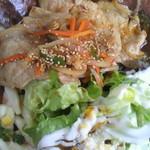 旬菜七草 - 豚肉の焼肉定食✿アップ♪