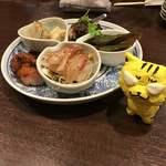 中国菜 オイル - 前菜盛合わせ4,000円(税込)