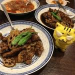 中国菜 オイル - 色々並んだよ