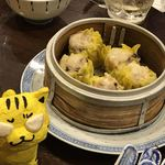中国菜 オイル - 鶏肉とホタテ貝柱の焼売1,200円(税込)