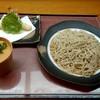 悠卯庵 - 料理写真:天ざるそば 1050円