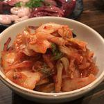 ホルモン豚金 - キムチ