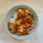 中華タンタンメン本舗 きんけ - 料理写真:半豚キムチ丼