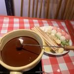 マカロニ食堂 - チョコレートフォンデュ