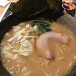 湯あがり食堂 - 横濱家系ラーメン@850円