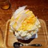 うどん茶房 ふなや - 料理写真:かき氷(せとかミルク)