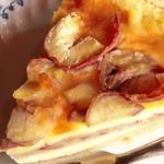 赤い屋根 - 手作りケーキ(栗タルト)