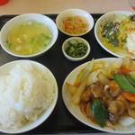 すいえん - 料理写真:酢豚定食