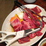 焼肉 白雲台 - 焼き肉定食のお肉