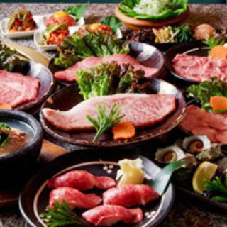 肉問屋直営が提供する、美味しいお肉を十分お楽しみください。