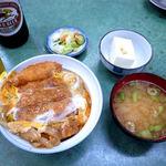 まいこや - 料理写真:かつ丼(600円)