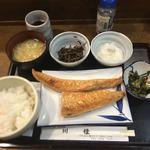 魚 めし処 川佳 - サケハラス塩焼き