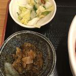 青森県むつ下北半島 - 小鉢の漬物