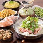 えこひいき - 鶏塩鍋宴会