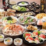 えこひいき - Wメインの海鮮鍋宴会