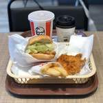 ケンタッキーフライドチキン - ランチA(税込600円)四川麻辣味(税込270円)