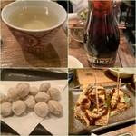 とりのほまれ - 日本酒もいただきました